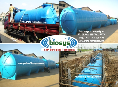 Waste water treatment dengan STP BioTech System BCO-Series